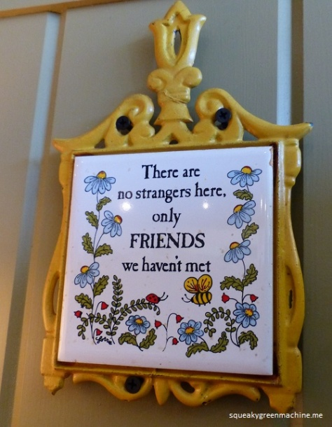 friends plaque