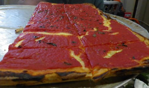 the sicilian pizza