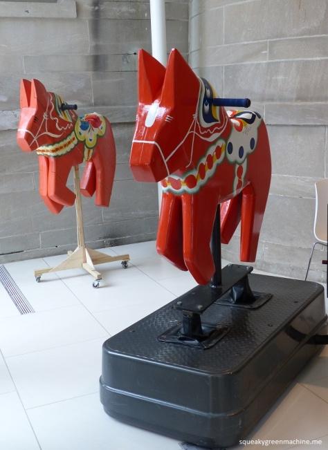 mechanicl swedish horse