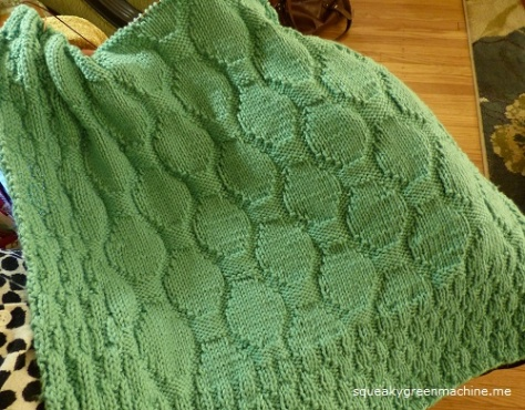 Amirah Baby Blanket pattern by Katherine Vaughn