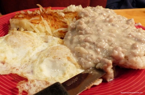 The Husband's Biscuits & Gravy