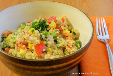 vegetables quinoa