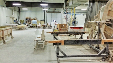 Scamp molding area
