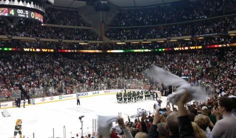 Minnesota Wild win