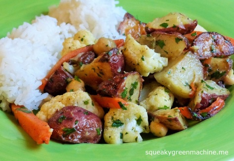 indian roasted vegetables
