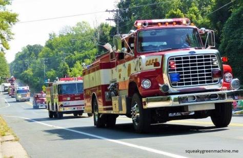 firetruck parade